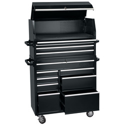 "Draper Draper Combined Roller Cabinet and Tool Chest 42"" 12 drawer - 69833 - from Toolstation"