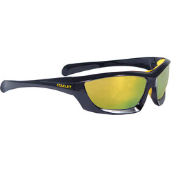 Stanley Full Frame Safety Glasses with Padded Brow Guard Fire Mirror
