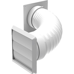 Tumble Dryer / Cooker Hood Kit 100mm
