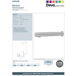 Deva SENSOR9/W Wall Sensor Tap