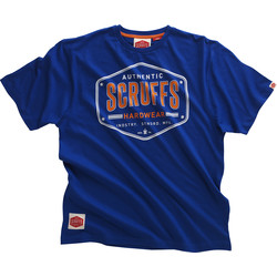 Scruffs Authentic T Shirt Small Blue
