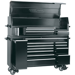 "Draper Draper Combined Roller Cabinet and Tool Chest 72"" 15 drawer - 70047 - from Toolstation"