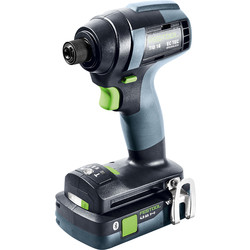Festool Festool 18V Impact Drill Brushless TID18HPC 2 x 4.0Ah - 70093 - from Toolstation