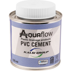 Aquaflow PVC Pipe Solvent Cement 125ml - 70177 - from Toolstation