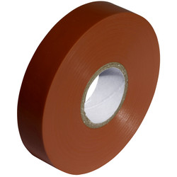 Insulation Tape Brown 19mm x 33m - 70218 - from Toolstation