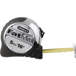 Stanley FatMax Stanley FatMax Pro Tape Measure 5m/16ft - 70249 - from Toolstation
