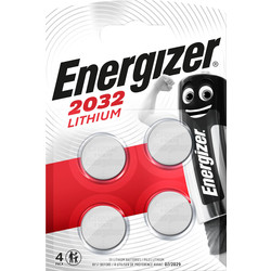 Energizer Energizer Lithium CR2032 FSB4 2032 - 70330 - from Toolstation
