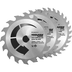 Toolpak Toolpak TCT Circular Saw Blades 150 x 20mm - 70341 - from Toolstation