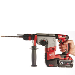 Milwaukee HD18HX-402C 18V Li-Ion Cordless Heavy Duty 3 Mode SDS Plus Rotary Hammer Drill