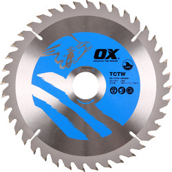 OX OX TCT Circular Saw Blade 190 x 30 x 40T - 70416 - from Toolstation