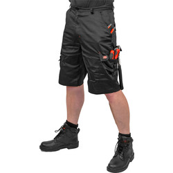 "Lee Cooper Lee Cooper Cargo Shorts 38"" Black - 70458 - from Toolstation"