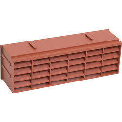 9 x 3 Air Brick Terracotta - 70541 - from Toolstation