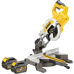 Dewalt DeWalt DCS777T2-GB 54V XR FlexVolt 216mm Mitre Saw 2 x 6.0Ah - 70545 - from Toolstation