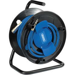 "Draper Draper 1/4"" Airline Hose Reel 20m - 70615 - from Toolstation"