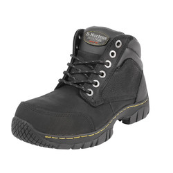 Dr Martens Dr Martens Riverton Safety Boots Black Size 8 - 70662 - from Toolstation