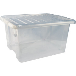 Barton Plastic Container with Clip On Lid 35L - 70691 - from Toolstation