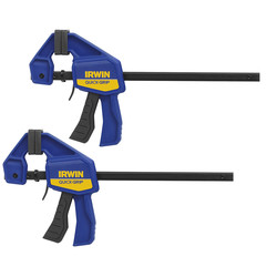 Irwin Irwin Quick-Grip Mini 2 Pack 6''/150mm - 70766 - from Toolstation