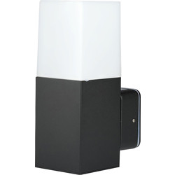 V-TAC V-TAC GU10 Black Aluminium Outdoor Light IP54 Wall Light - 70792 - from Toolstation