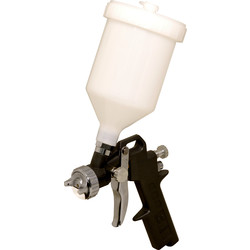 Silverline Gravity Feed Spray Gun  - 70796 - from Toolstation