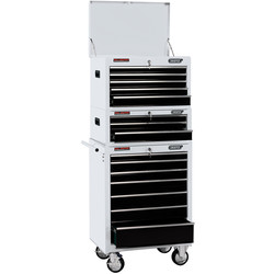 "Draper Draper Combined Roller Cabinet and Tool Chest 26"" 15 drawer - 70860 - from Toolstation"