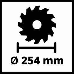 Einhell 254mm 2200W Table Saw