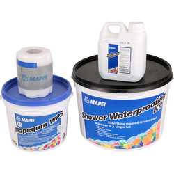 Mapei Mapei Shower Waterproofing Kit  - 71005 - from Toolstation
