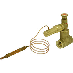 90°C Remote Fire Valve 1.5m - 71107 - from Toolstation