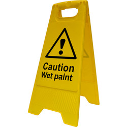 Caution A-Board Wet Paint - 71111 - from Toolstation