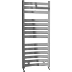 Cassellie Fewston Straight Designer Radiator 1147 x 500mm Chrome 1287Btu - 71206 - from Toolstation