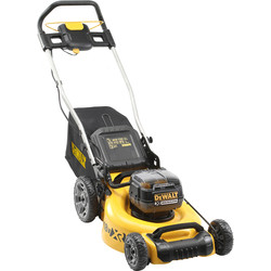 DeWalt DeWalt DCMW564P2 36V XR 48cm Brushless Cordless Lawnmower 2 x 5.0Ah - 71284 - from Toolstation