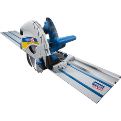 Scheppach Scheppach PL75-P1 1600W 210mm Plunge Saw + 1 x 1400mm Guide Rail 230V - 71293 - from Toolstation