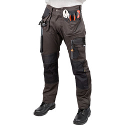 "Scruffs Scruffs 3D Trade Trousers 32"" R Graphite - 71360 - from Toolstation"