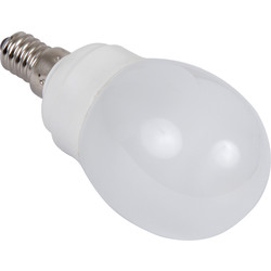 Sylvania Sylvania Energy Saving CFL Golfball Lamp T2 9W SES 450lm A - 71378 - from Toolstation