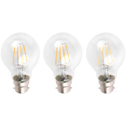 LED Filament GLS Lamp 4W BC (B22d) 470lm