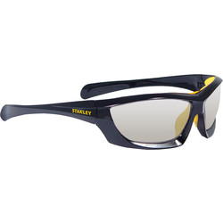 Stanley Full Frame Safety Glasses with Padded Brow Guard Indoor / Outdoor Lens