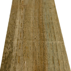 Forest Garden Green Incised Fence Post 8ft