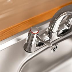 Ebb + Flo Contract Lever Deck Mixer Kitchen Tap