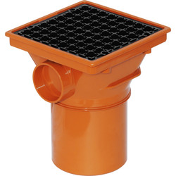 Aquaflow Square Hopper 110mm  - 71607 - from Toolstation