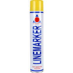 Line Marking Spray Paint 750ml Yellow