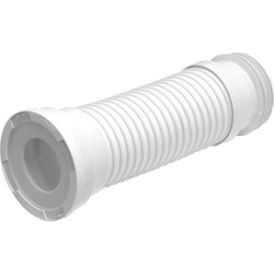 Wirquin Jollyflex Finned Pan Connector Short 240 - 390mm - 71697 - from Toolstation