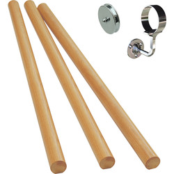 Richard Burbidge Richard Burbidge Handrail Kit White Oak - 71741 - from Toolstation