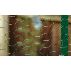 PVC Wire Netting 500mm x 10m - 25mm - 71756 - from Toolstation
