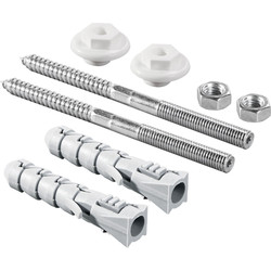 Rawlplug Rawlplug KPU141 Wash Basin Sanitary Fixing Set Basin Fixing - 71782 - from Toolstation