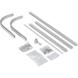 hOme Modular Glider Shower Track  - 71802 - from Toolstation