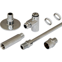 Gas Restrictor Kit Chrome