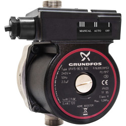 Grundfos Grundfos UPA 15-90N Home Booster Pump 230V 50Hz - 71846 - from Toolstation