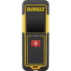 DeWalt DeWalt DW033-XJ Laser Distance Measurer 30m - 71947 - from Toolstation
