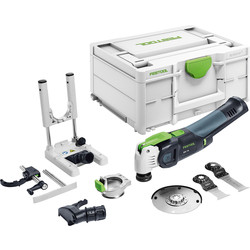 Festool Festool OSC 18 Li E-Basic Set Cordless Oscillator Body Only - 72023 - from Toolstation