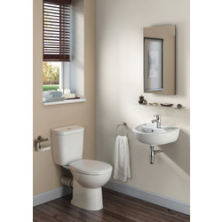 Armitage Shanks Armitage Shanks Sandringham 21 Smooth Cloakroom Suite  - 72040 - from Toolstation