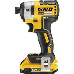 DeWalt DeWalt DCF887 18V XR Li-Ion Cordless Brushless Impact Driver 2 x 2.0Ah - 72076 - from Toolstation